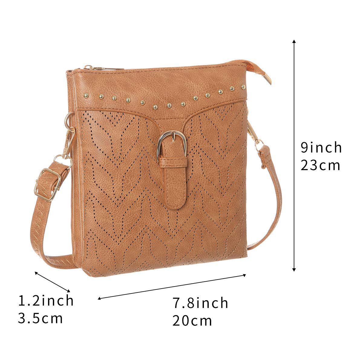 TENXITER Women Hollow Texture Small Crossbody Bags Cell Phone Purse Wallet Shoulder Bags for Womens