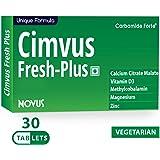 Carbamide Forte Cimvus Fresh-Plus Easily Absorbed Calcium + Extra Vitamin D3 & Vitamin B12 Veg Supplements (30)