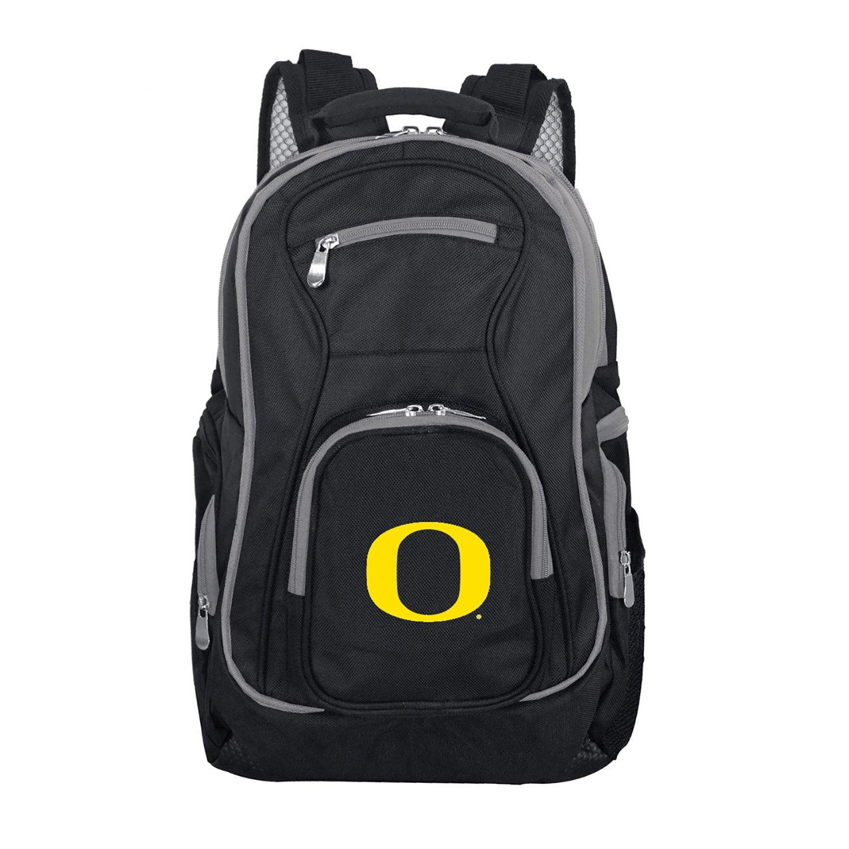 Denco NCAA カラートリム プレミアムラップトップバックパック 19インチ Oregon Ducks Oregon Ducks B07CRB7D2V