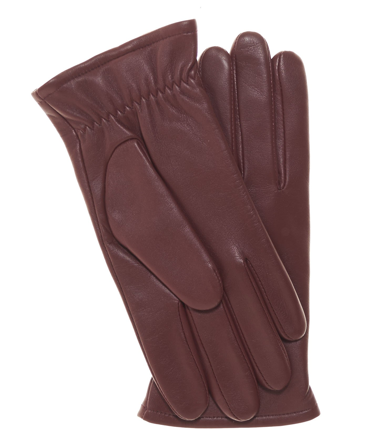 Pratt and Hart Women's Classic Thinsulate Lined Leather Gloves Size 7 1/2 Color Black by Pratt and Hart (Image #5)