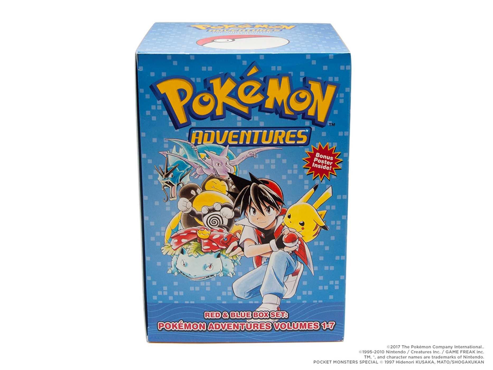 Pok Mon Adventures Red Blue Box Set Set Includes Vol 1 7  # Comprar Muebles Pokemon Esmeralda