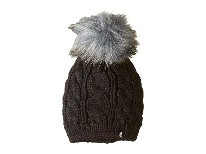 9026ece1d The North Face W Oh-Mega Fur Pom Be Tnf Black OS: Amazon.co.uk: Clothing