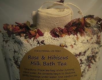 Amazon.com: Baño de leche Soak Sales minerales Aroma té tina ...