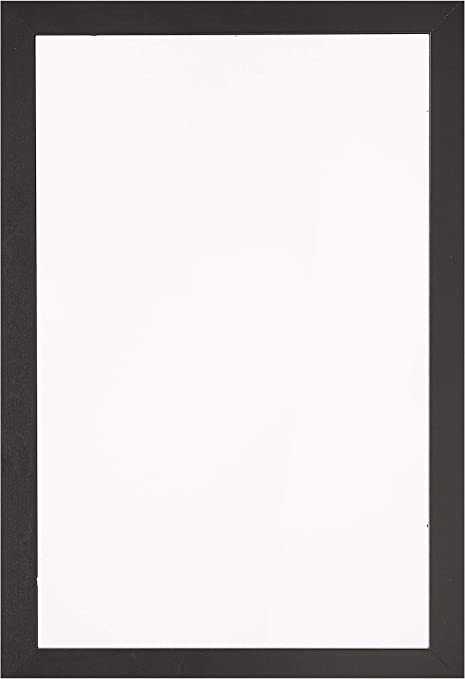 Arttoframes 11x17 Inch Black Picture Frame This 1 25 Custom Poster Frame Is Satin Black For Your Art Or Photos Comes With Regular Glass Womfrbw26079 11x17 Amazon Co Uk Kitchen Home