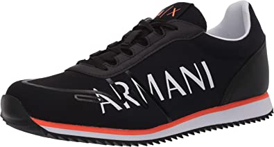 Armani Exchange Retro Running Sneakers, Zapatillas para Hombre ...