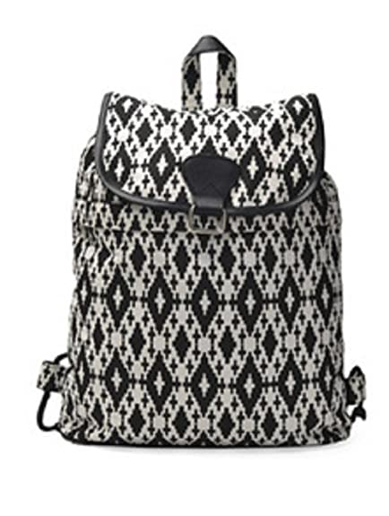 a6a33a5a4f Crafts My Dream Women s Backpack Handbags Black And White Cmd140193   Amazon.in  Shoes   Handbags