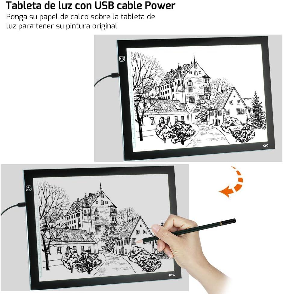 Mesa de luz, Tableta de LED para calcar para diseño, dibujo y ...