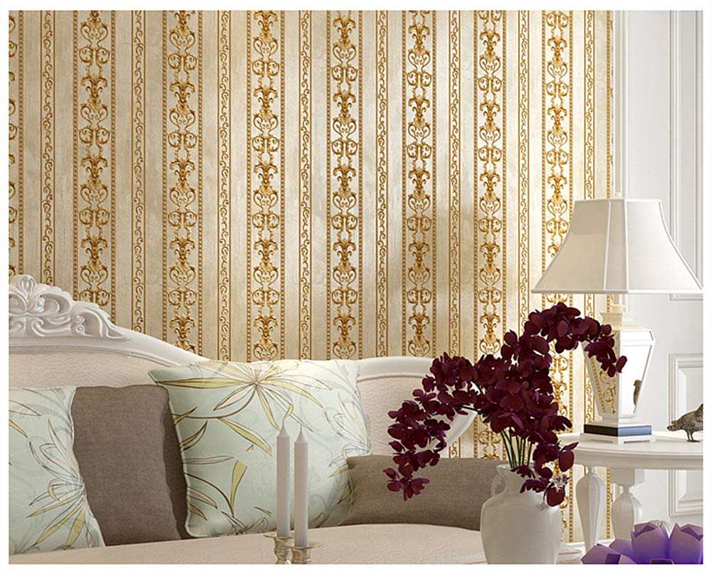 8803-7 Blooming Wall Vintage French Damasks High Standard Textured Wallpaper Wall Paper for Livingroom Kitchen Bedroom,20.8 In32.8 Ft=57 Sq.ft