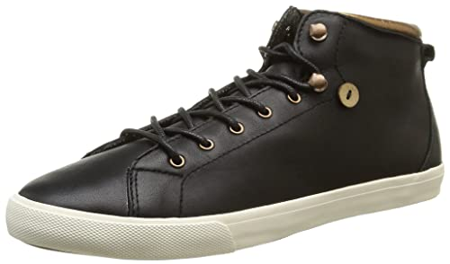 Faguo Mulberry Womens Trainers Noir (003 Black) 4 UK