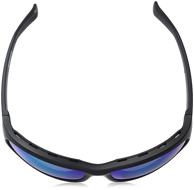 0ddbf4c203b9 Amazon.com: Under Armour Capture Oval Sunglasses (ANSI Satin Black  Frame/Copper Polarized Lens/Green MULTIFLECTION W/UA Storm, 64.5 mm:  Clothing