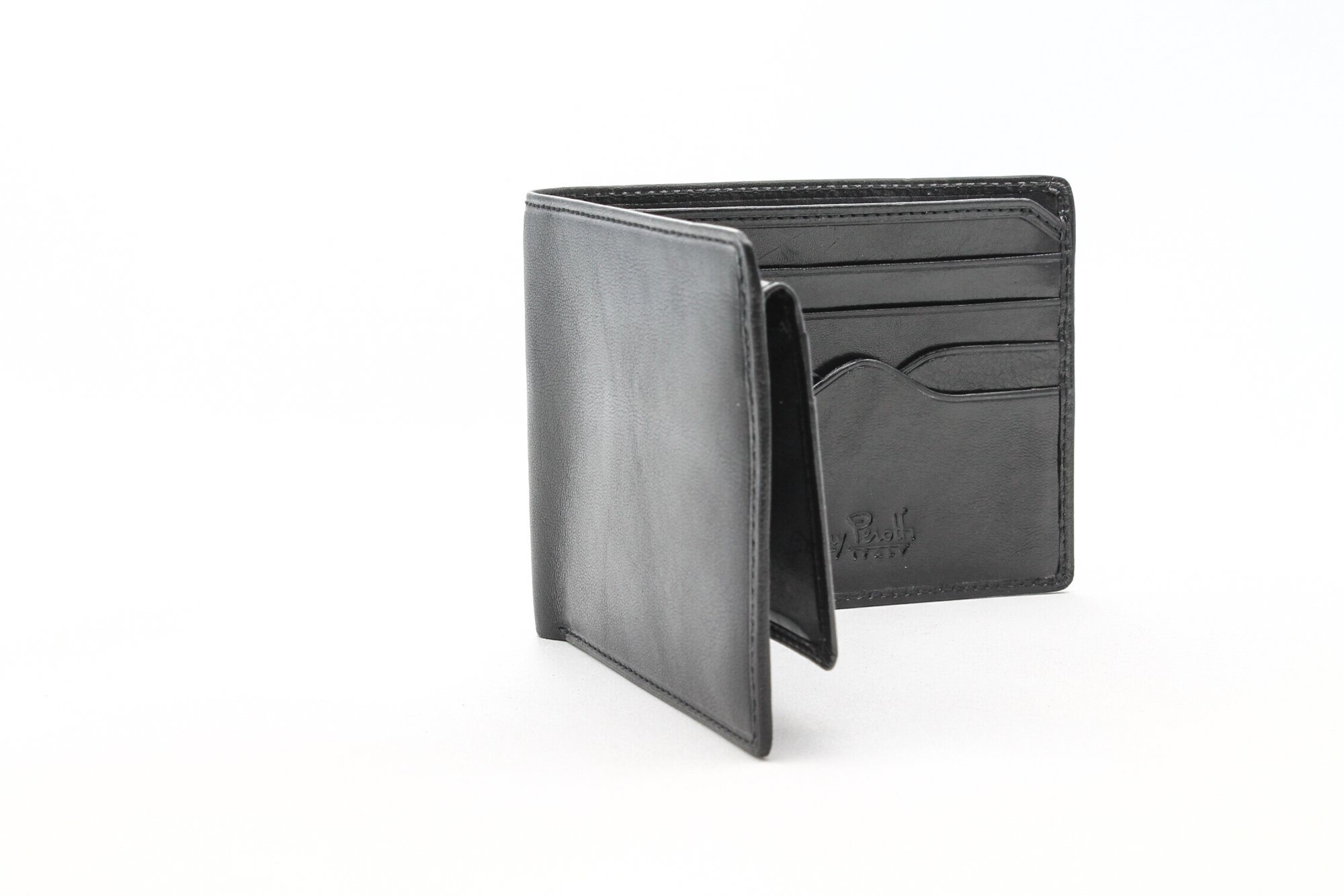 Women's Italian Bull Leather Bifold Wallet with Removable ID Card Case by Tony Perotti (Image #2)
