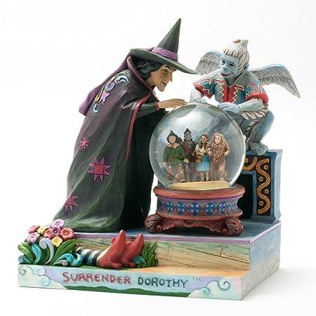 Enesco Jim Shore The Wizard of Oz Waterball Figurine, 8.5-Inch