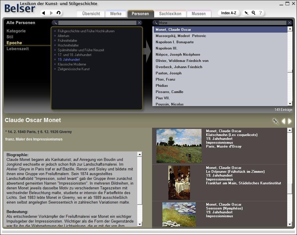 Belser Lexikon der Kunst- und Stilgeschichte 3.0 (DVD-ROM): Amazon ...