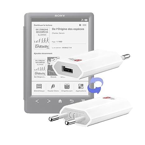 DURAGADGET-Cargador de viaje USB para lector electrónico Kobo ...