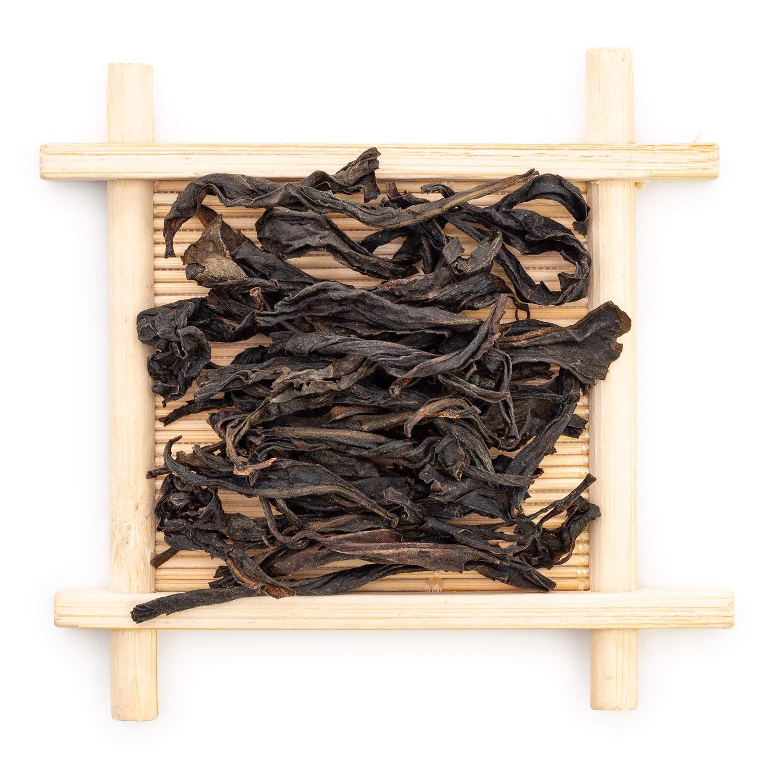 Oriarm 500g / 17.64oz Rougui Da Hong Pao Oolong Tea Loose Leaf - Wuyi Rouck Tea Big Red Wulong Robe Chinese Tea Leaves - Powerful Anti-Oxidants Weight Loss Aid