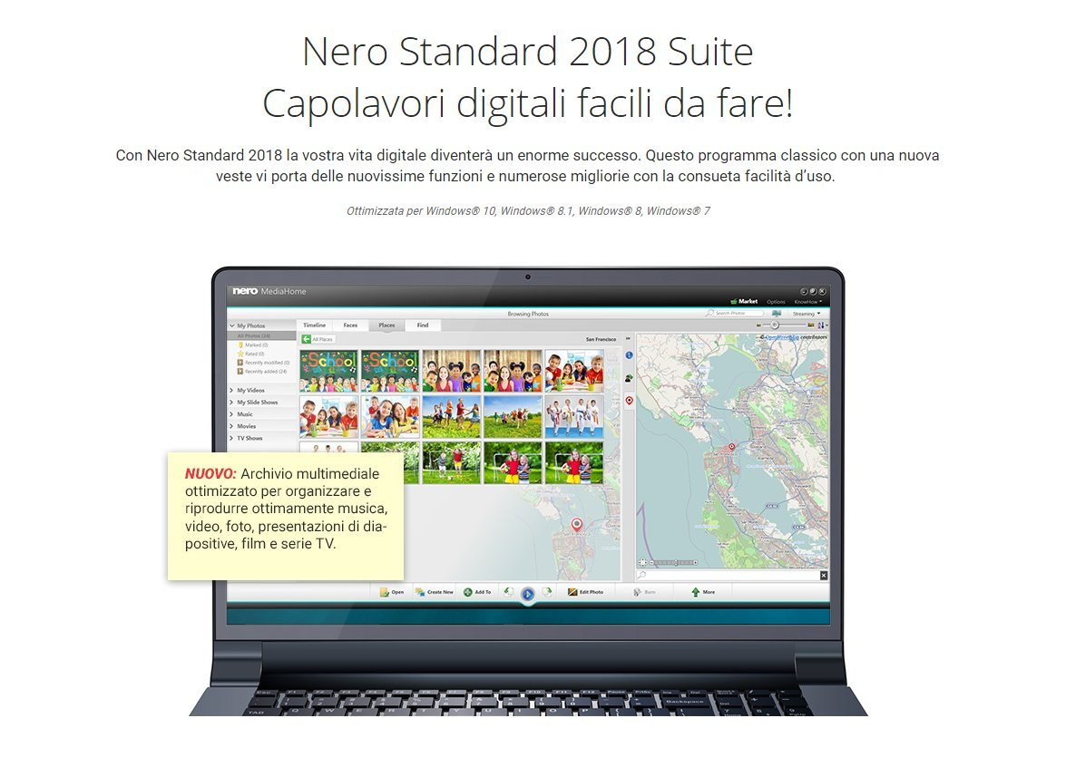 Nero Standard 2018 - Software De Edición Multimedia, 4in1, Para Windows 10: Amazon.es: Software