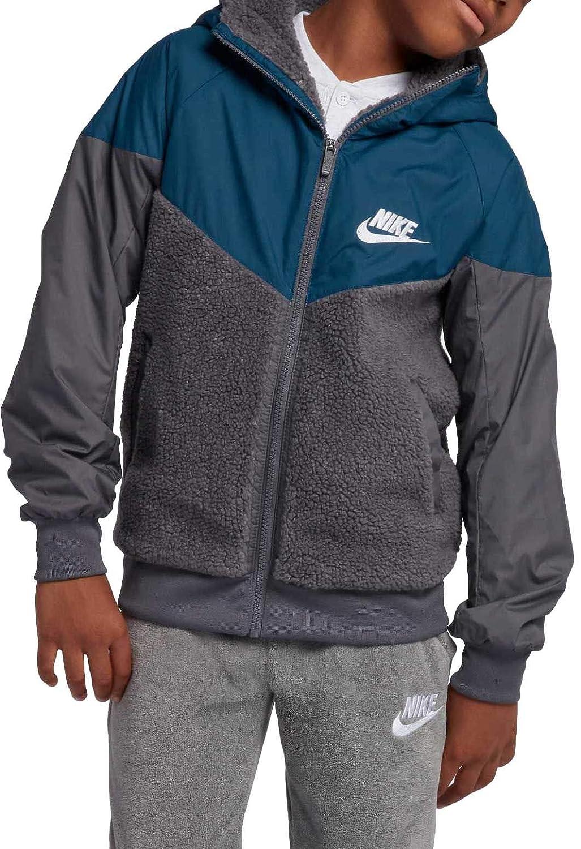 Nike Boys Sportswear Sherpa Windrunner Jacket