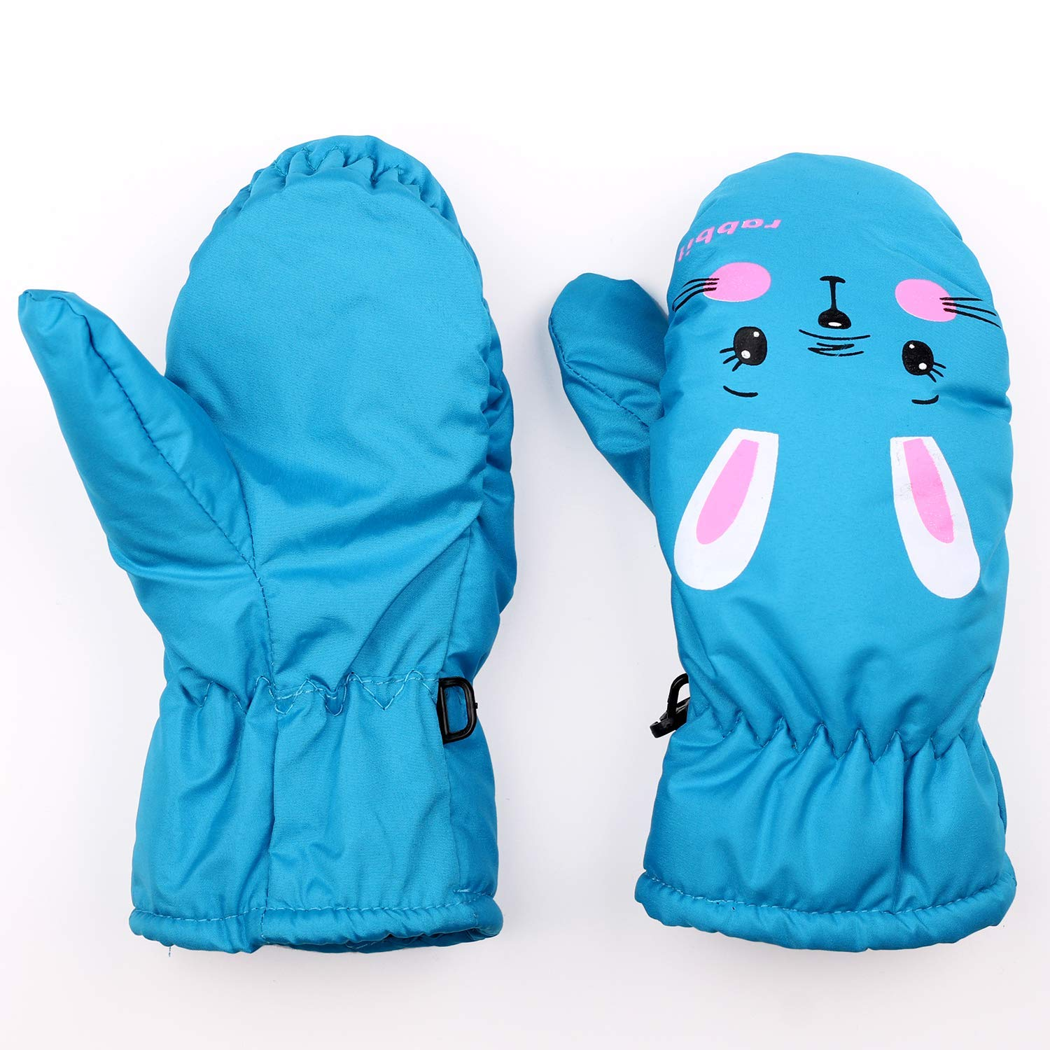 Eshall Kids Ski Gloves Windproof Snowproof Winter Warm Mittens for Boys Girls
