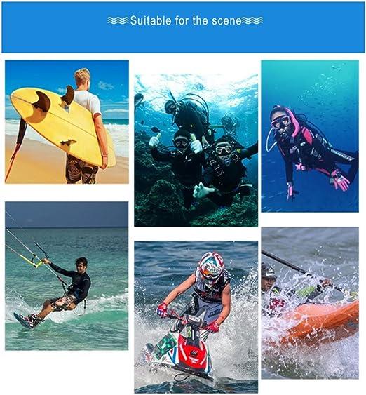 Gants de plong/ée en n/éopr/ène N/éopr/ène Cinq Gants Doigts Anti Slip Flexible pour Snorkeling Natation Surf M Bleu 1 Paire
