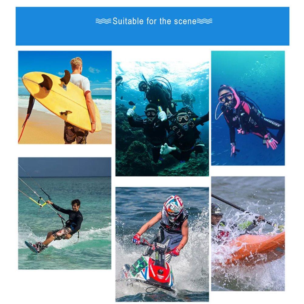 NaiCasy Wetsuits 1,5/mm Premium Guantes de Neopreno Buceo Cinco Dedos Guante Azul L Tama/ño de 1/Pieza