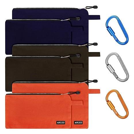 Amazon.com: Juego de 6 bolsas de lona para herramientas con ...