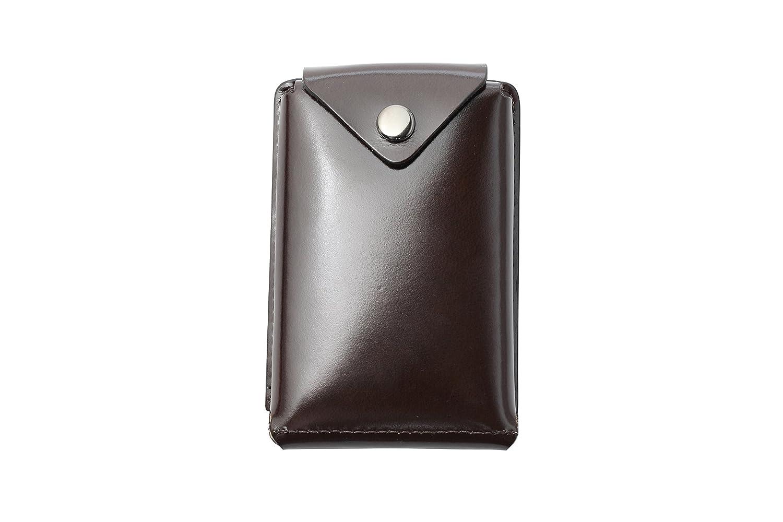 (アブラサス)abrAsus 薄いカードケース classic レディース メンズ B00N3JXJZI チョコ チョコ