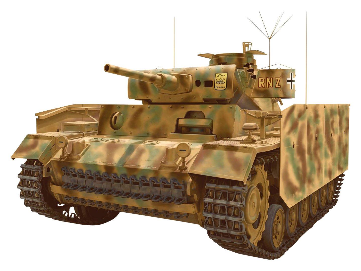 Dragon 500776570 - 1:35 Panzerbefehlswagen III Ausführung J mit Schürzen