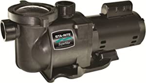 Pentair Sta-Rite PHKN2RAY6F-103L SuperMax 2-Speed Energy Efficient High Performance Inground Pool Pump without Union, 1-1/2 HP, 230-Volt