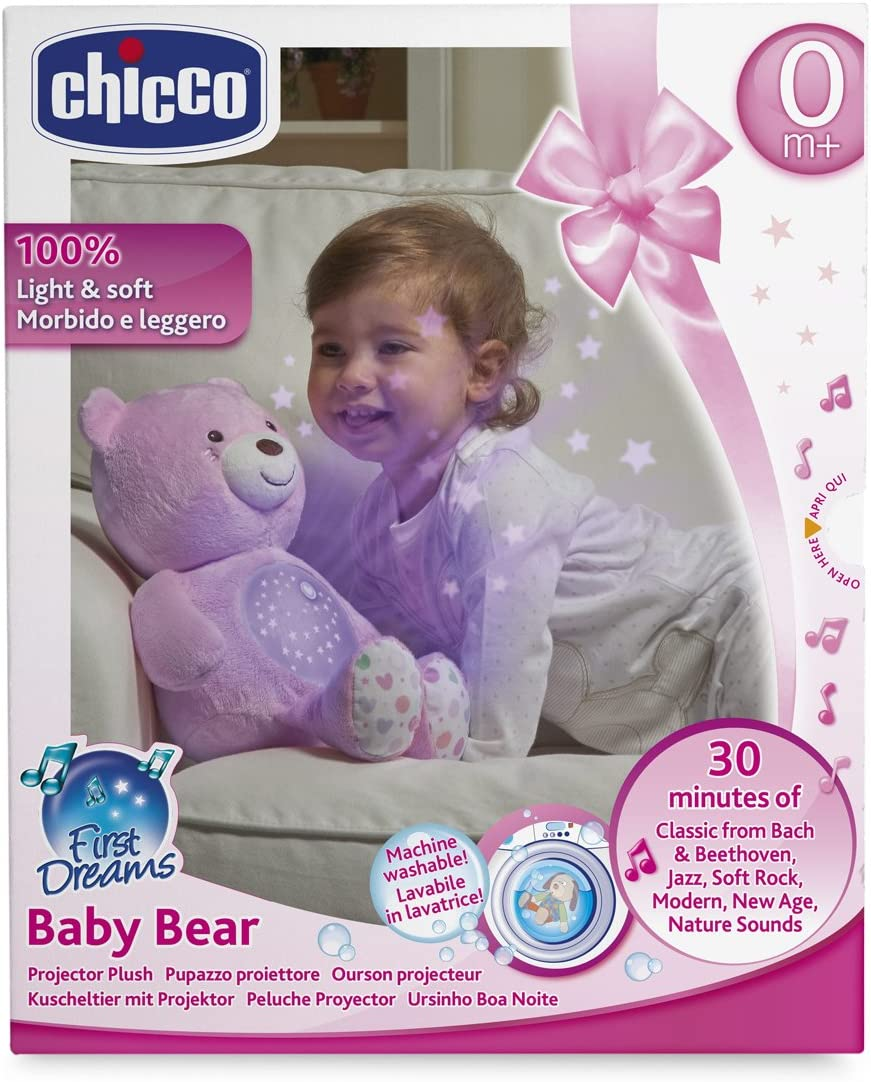 Chicco-00008015100000 Big & Small Proyector, Color Rosa ...
