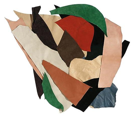 8 opinioni per Rayher Hobby 8301500- Ritagli di pelle, 500g, Colori misti
