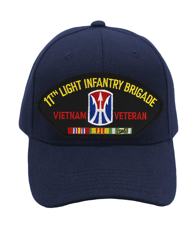 Patchtown 11th Light Infantry Brigade Vietnam War Veteran Hat//Ballcap Adjustable One Size Fits Most