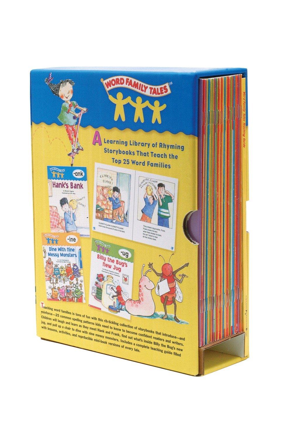 amazon com scholastic word family tales box set teaching rh amazon com scholastic word family tales teaching guide Word Family Order