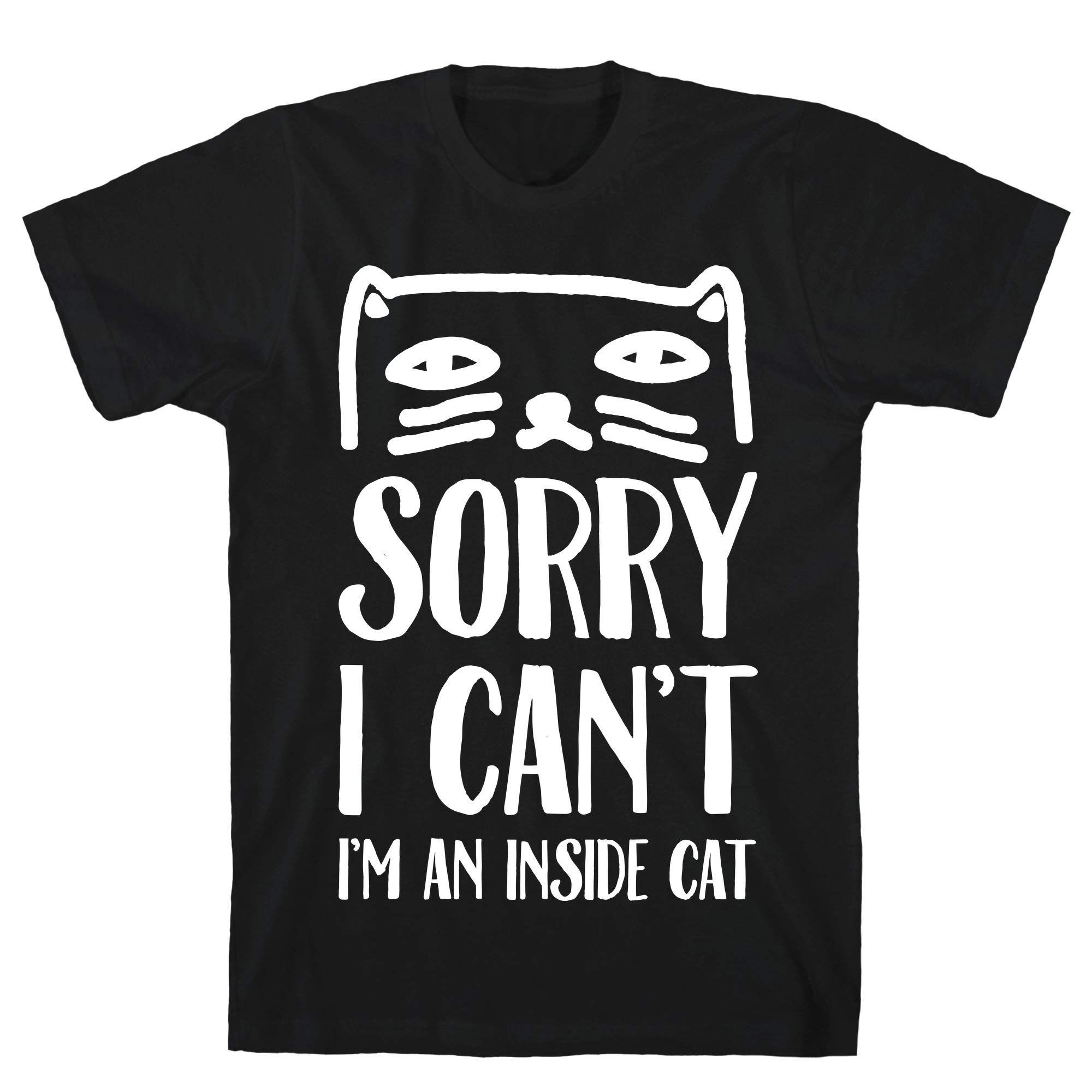 Sorry I Can T I M An Inside Cat Tee 7559 Shirts
