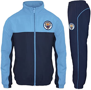 Manchester City FC - Chándal oficial para niño - Chaqueta y ...