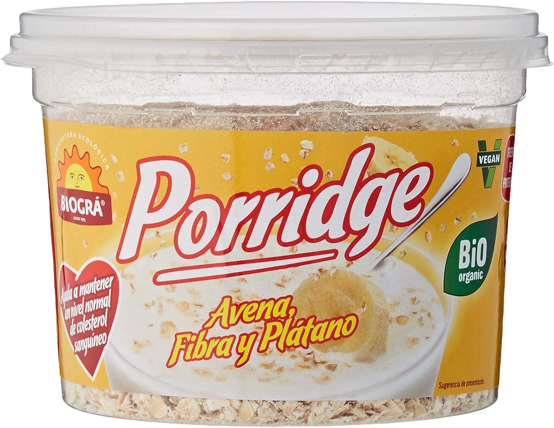 Biográ Bio-Porridge De Avena Con Platano S/Az Biogra Biográ 200 g
