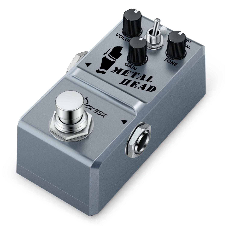 donner metal head guitar effect pedal super mini metal distortion pedal guitar affinity. Black Bedroom Furniture Sets. Home Design Ideas