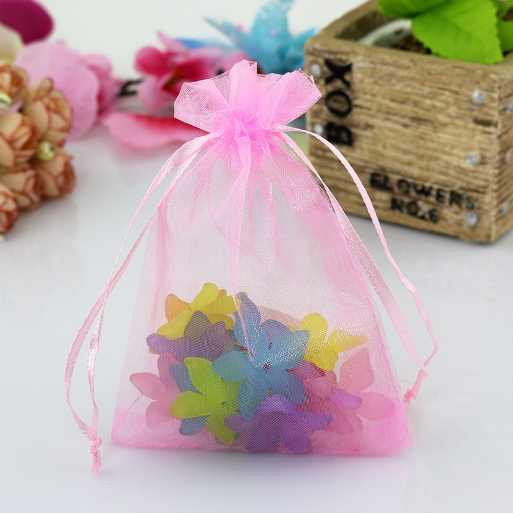 Amazon.com: INTBUYING 100pc Mixed Colors Jewelry Gift Candy Organza ...