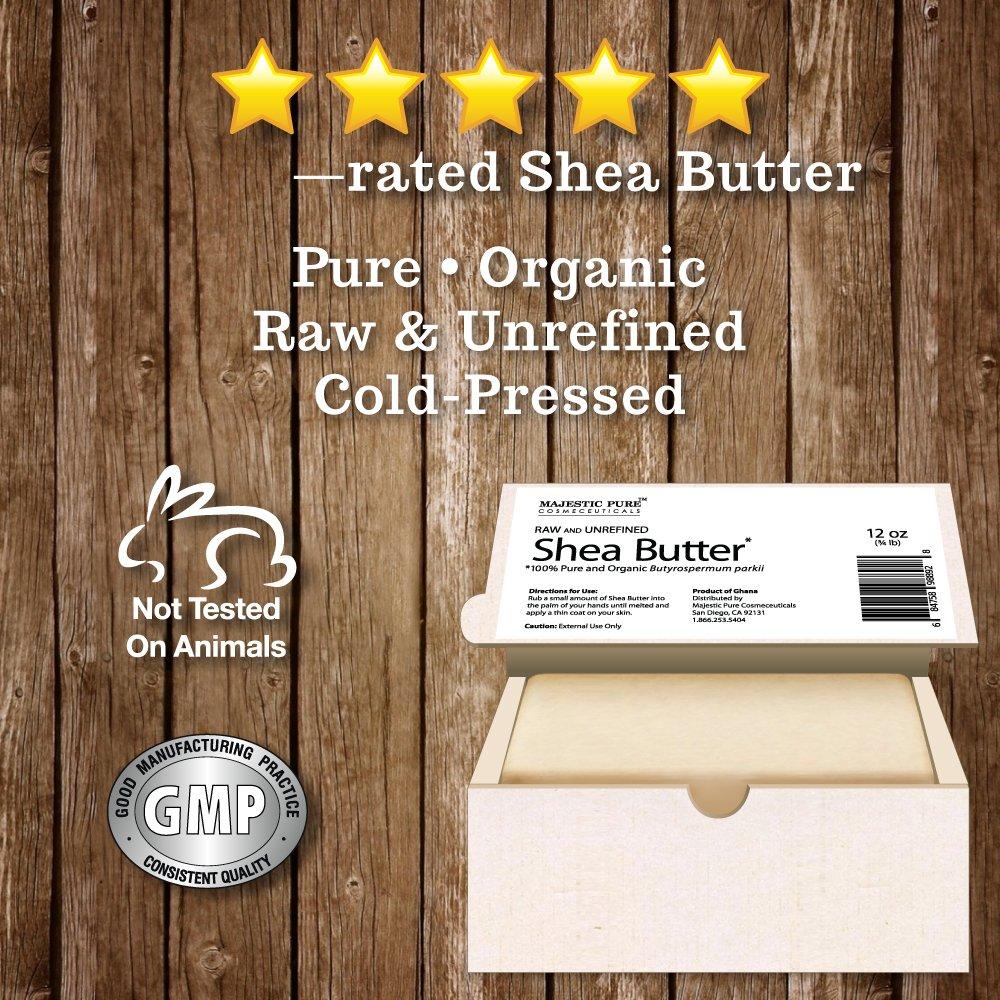 Majestic Pure Grade A Unrefined Organic Shea Butter, 12 oz by Majestic Pure (Image #5)