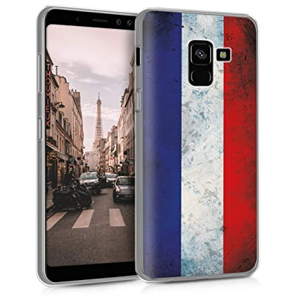 Amazon.com: kwmobile - Carcasa para Samsung Galaxy A8 (2018 ...