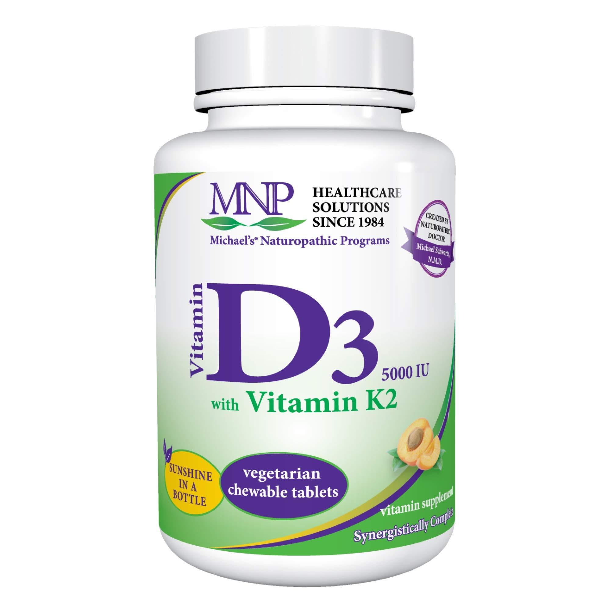 Amazoncom Michaels Naturopathic Programs Vitamin D3 With K2 5000