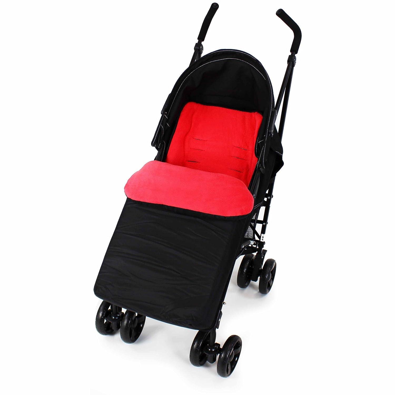 Hazel /& Larch Stroller Stroller Footmuff to Fit Argos Cuggl Maple Black//Grey