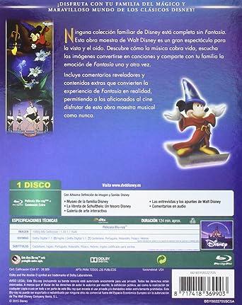 Fantasia Edición Diamante [Blu-ray]: Amazon.es: Personajes Animados, Personajes Animados: Cine y Series TV
