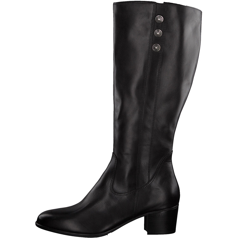 4 Stiefel frauen blockabsatz Boots 5cm reißverschluss 25557 21 lederstiefel Damen Tamaris dCoeWrBx