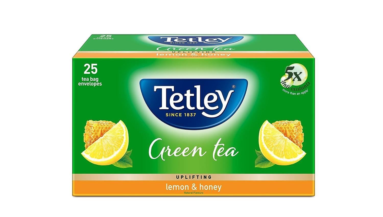 Tetley Green Tea, Lemon and Honey, 25 Tea Bags: Amazon.in: Grocery &  Gourmet Foods