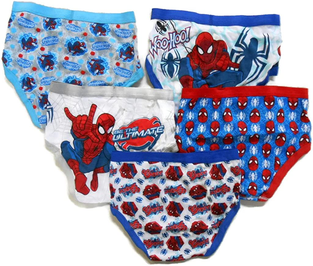 Marvel Little Boys Spiderman Five-Pack of Briefs
