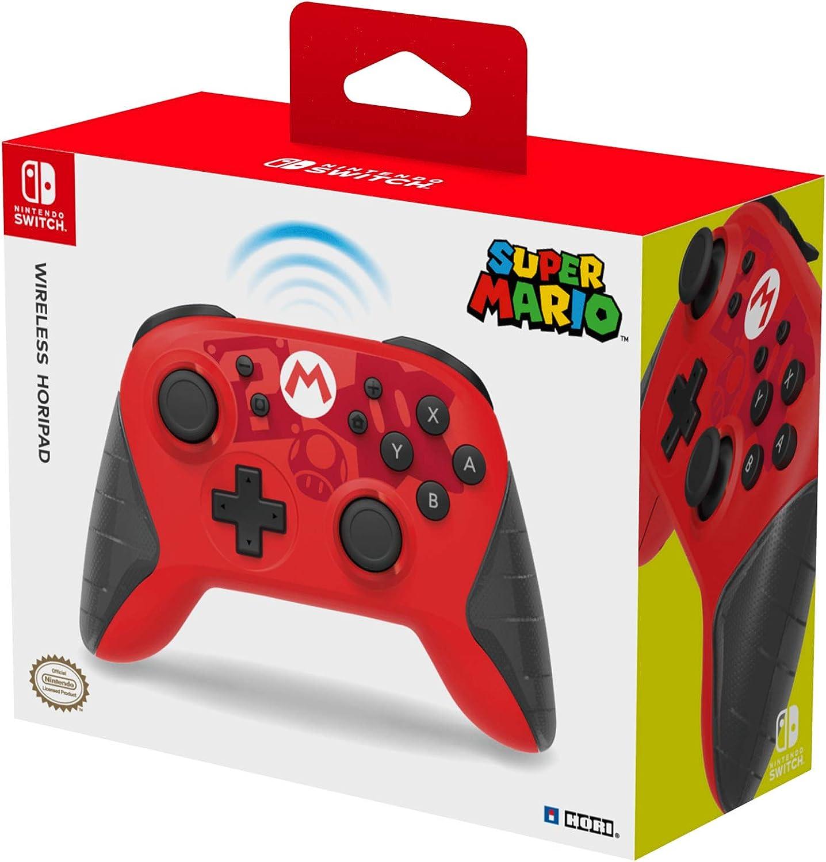 Hori - Horipad Inalámbrico Super Mario (Nintendo Switch): Amazon.es: Videojuegos