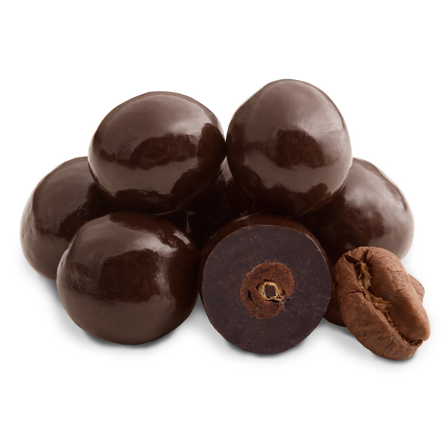 Dark Chocolate Espresso Beans- Pack of 6 Gift Bags by Sunflower Food Company
