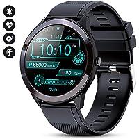 GOKOO Reloj Inteligente Hombres Smartwatch IP68 Impermeable Monitor de Actividad…