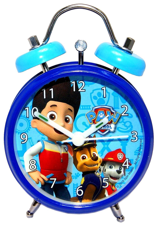 Paw Patrol Metal Alarm Clock, Official Licensed Spin Master
