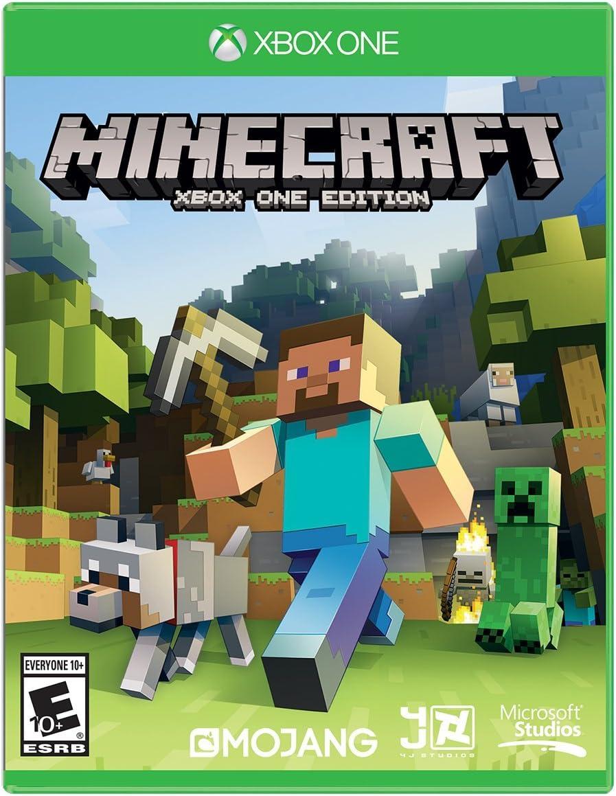 amazon com minecraft xbox one microsoft video games